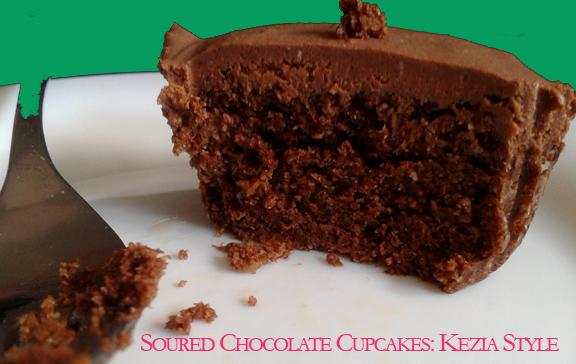 Soured Chocolate cupcake1