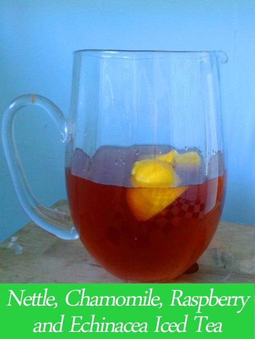 ice tea -nettle web