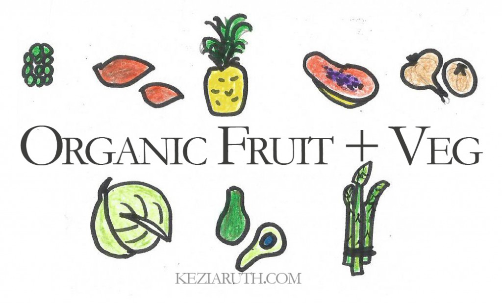 organic fruit and veg