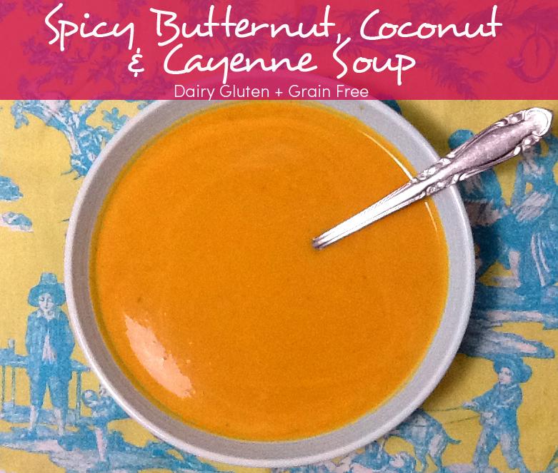 butternut soup psd