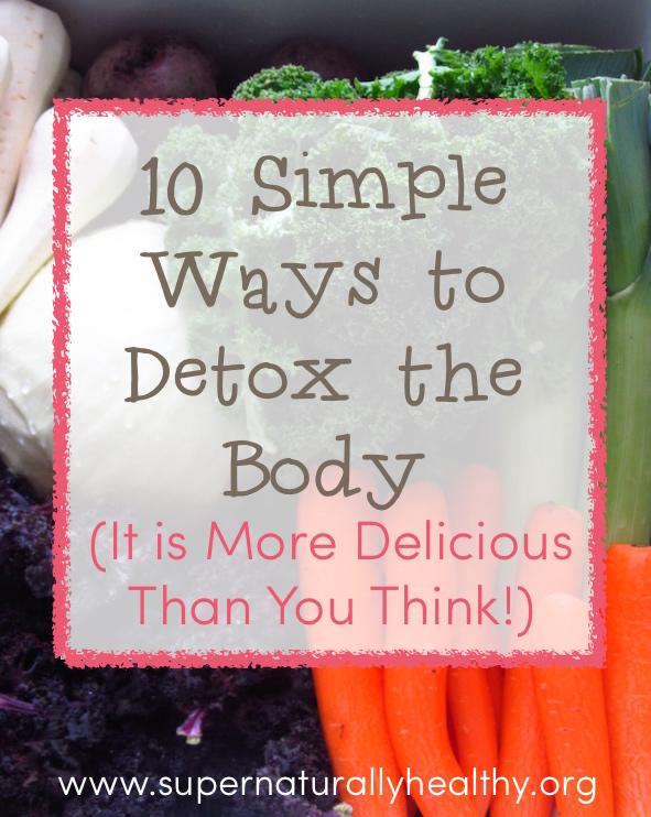 10 way to detox