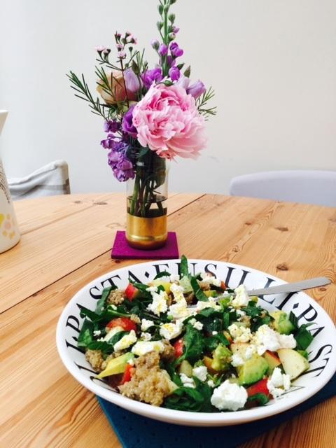 Apple and Feta Salad