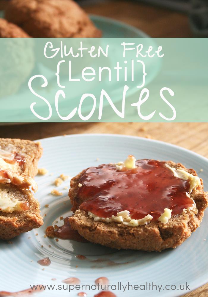 Lentil-scones