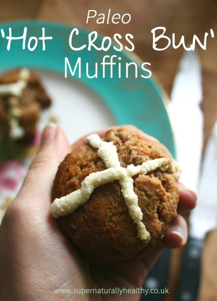 paleo-hot-cross-bun-muffin