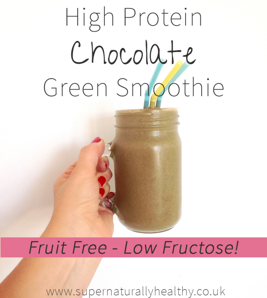 high-protein-chocolate-green-smoothie